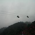 雲仙樂園的纜車