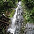 五峰旗第二層瀑布