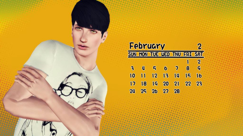 2月(年曆)1600896