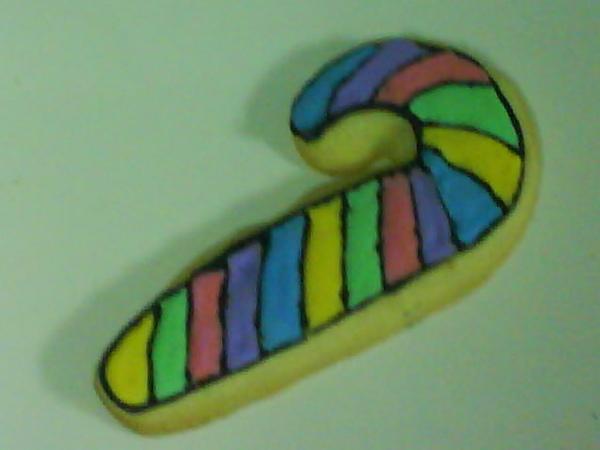 彩繪餅乾拐杖