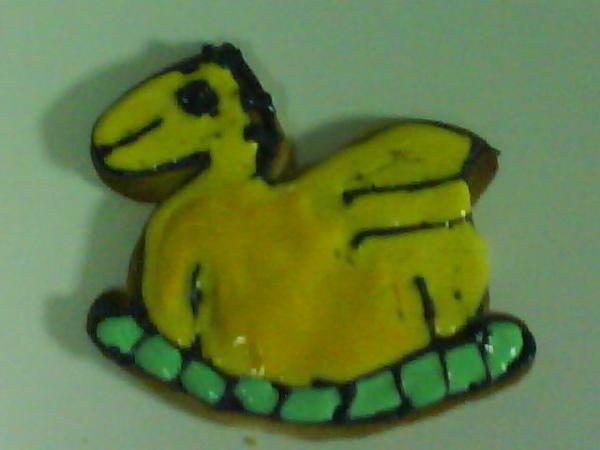 彩繪餅乾小馬