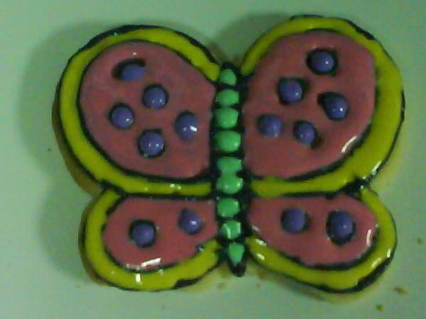 彩繪餅乾蝴蝶