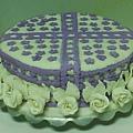 翻糖蛋糕12吋上層