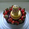 俄羅斯彩蛋蛋糕1