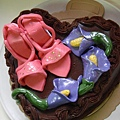 高根鞋蛋糕心型巧克力
