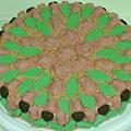 16吋瑞士蓮巧克力玫瑰花蛋糕