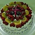 10吋代糖水果蛋糕
