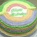 8吋彩虹蛋糕
