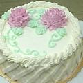 8吋牡丹花蛋糕