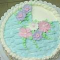 8吋花籃蛋糕