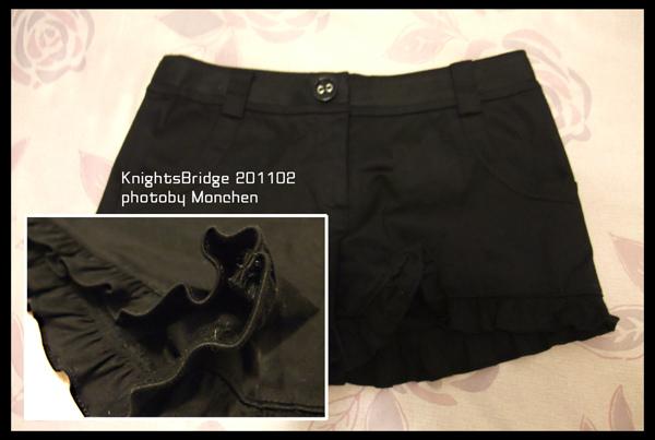 KnightsBridge花邊短褲