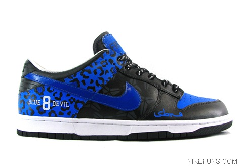KICKS LAB x Freshness x SBTG Blue Devils Dunk Low