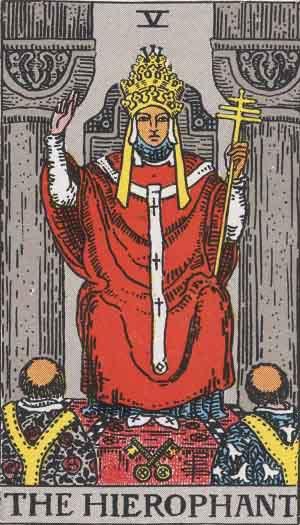 塔羅牌教宗牌義教學課程