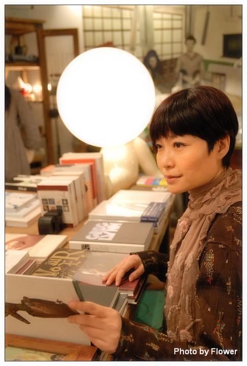 作家張曼娟。