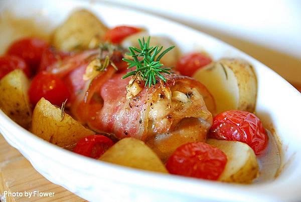 培根雞腿烤馬鈴薯