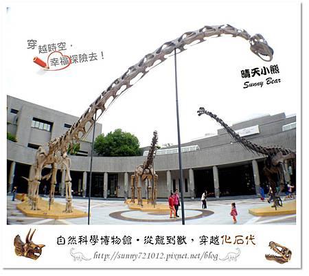 1.晴天小熊-自然科學博物館-從龍到獸,穿越化石代