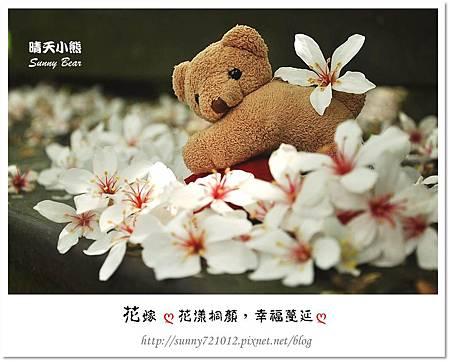 10.晴天小熊-花嫁ღ 花漾桐顏,幸福蔓延 ღ