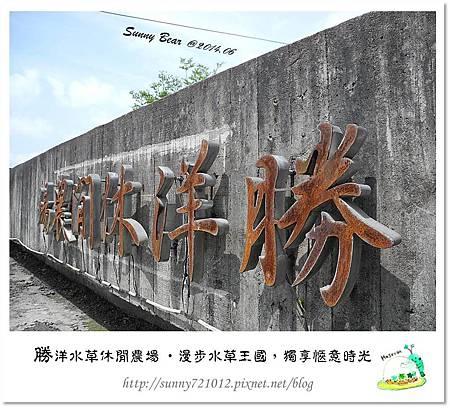 5.晴天小熊-勝洋水草休閒農場-漫步水草王國,獨享愜意時光