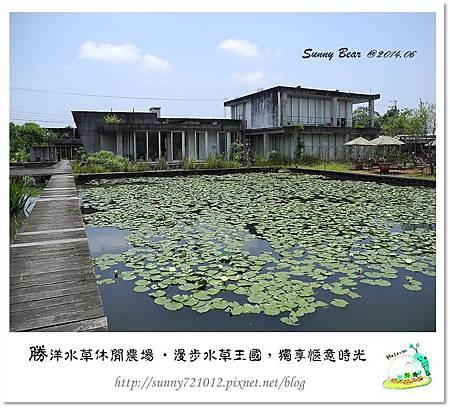 8.晴天小熊-勝洋水草休閒農場-漫步水草王國,獨享愜意時光