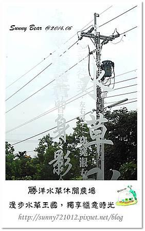 44.晴天小熊-勝洋水草休閒農場-漫步水草王國,獨享愜意時光