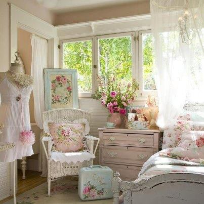 shabby chic home decor pinterest 法式公主風裝潢 斗圖網 13056
