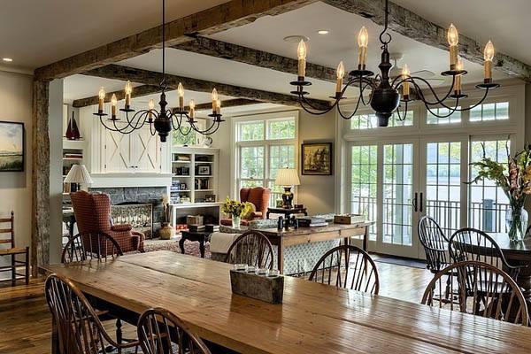 『居家裝潢佈置』各式住家餐廳餐桌空間擺設 圖片分享 1 Sunny Bay Country Home 痞客邦