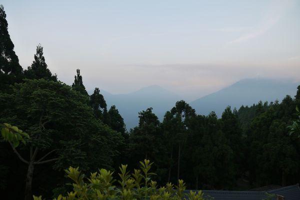 美麗的山嵐