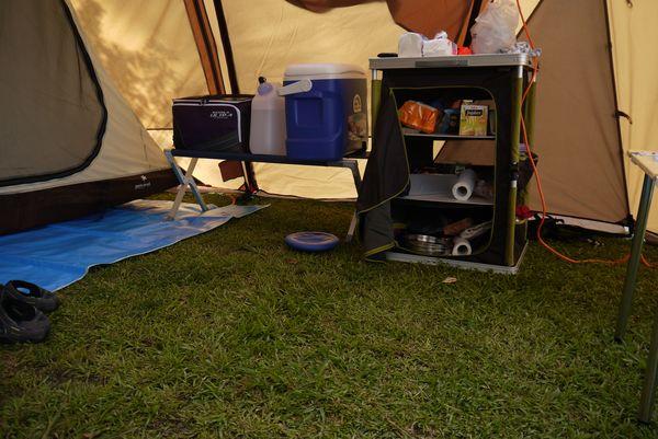帳篷內廚房用品