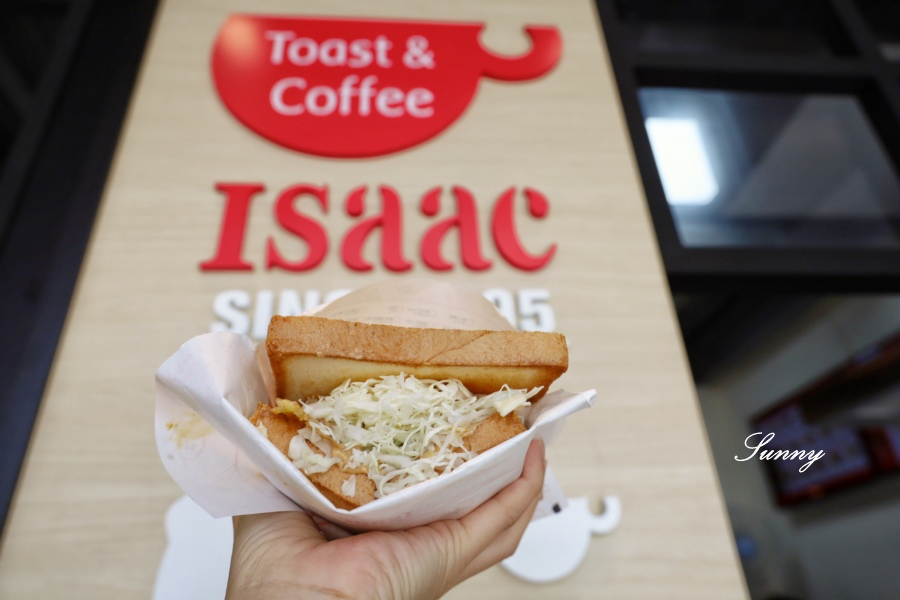 Isaac Toast %26; Coffee 韓國奶油吐司_台中美食 (10).JPG