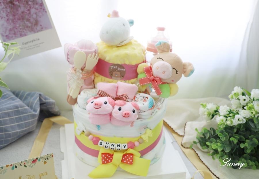 Pika Kuma皮卡熊-尿布蛋糕-彌月禮推薦 (5).JPG