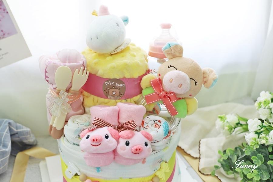Pika Kuma皮卡熊-尿布蛋糕-彌月禮推薦 (4).JPG