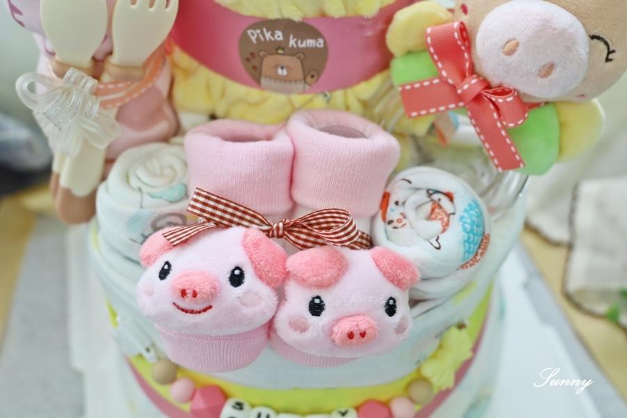 Pika Kuma皮卡熊-尿布蛋糕-彌月禮推薦 (6).JPG