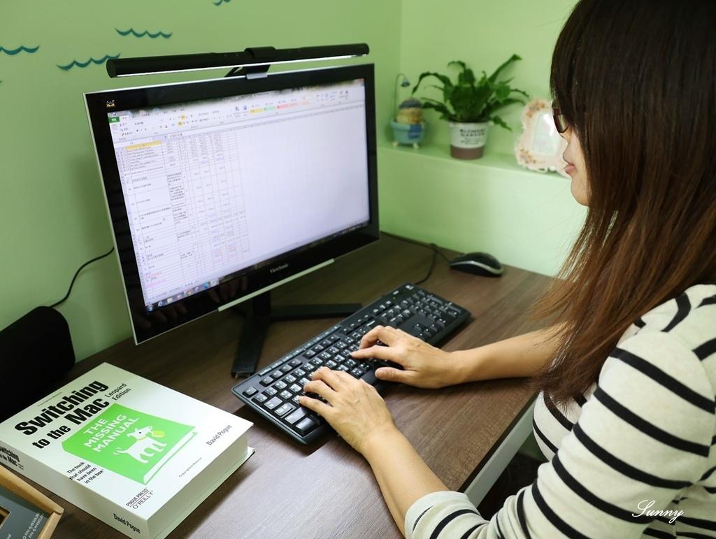 BenQ螢幕燈_ScreenBar_螢幕智能掛燈 (29).JPG