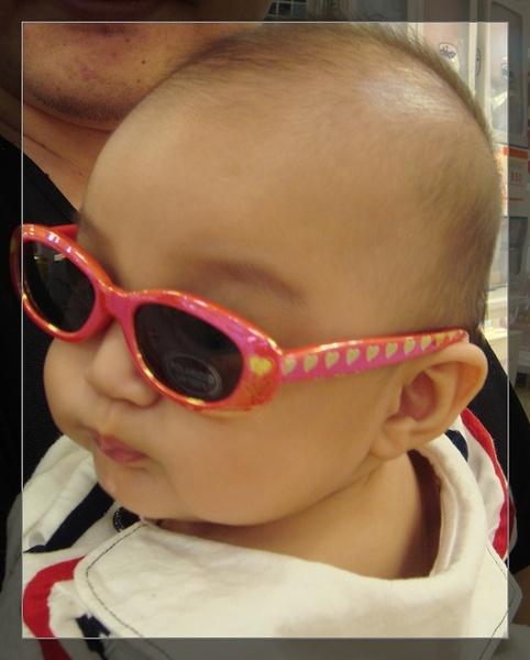 試戴太陽眼鏡
