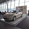 華沙機場展示的雷諾汽車