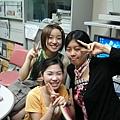 在相談室和Tomoka.Emily