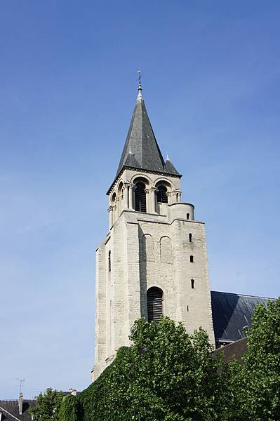 巴黎最古老的聖傑曼德佩教堂