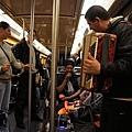 電車上的提琴手