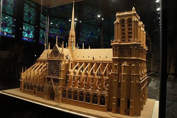 聖母院的模型