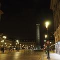 晚上很美的凡登廣場