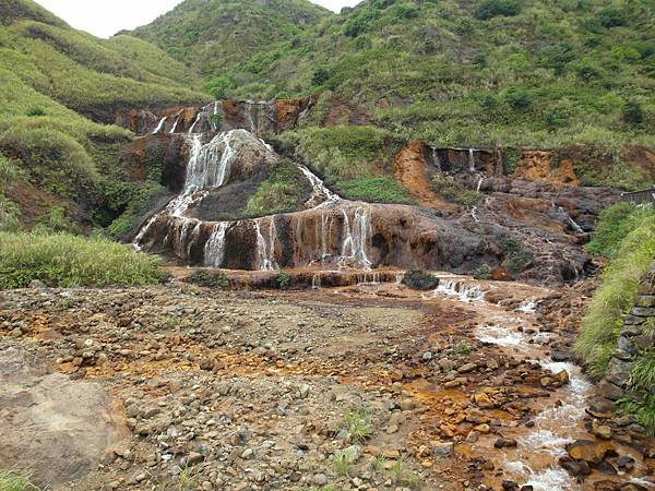 金瓜石瀑布