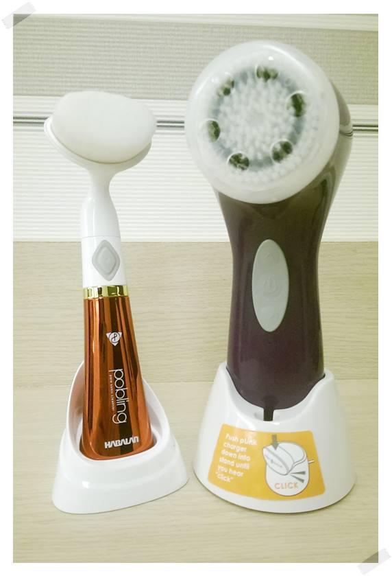 Clarisonic Aria音波洗臉機和韓國Pobling洗臉機比一比