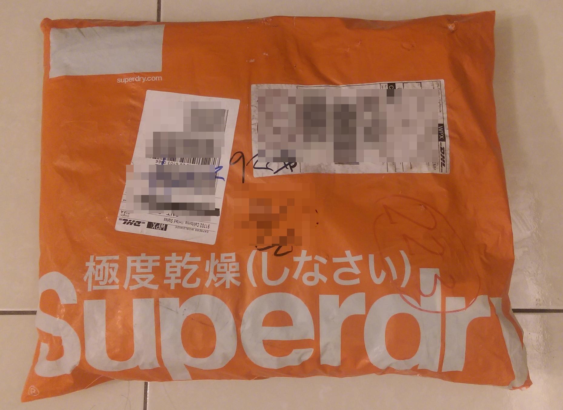 Superdry包裹