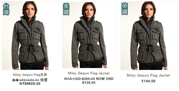 Miley Sequin Flag Jacket