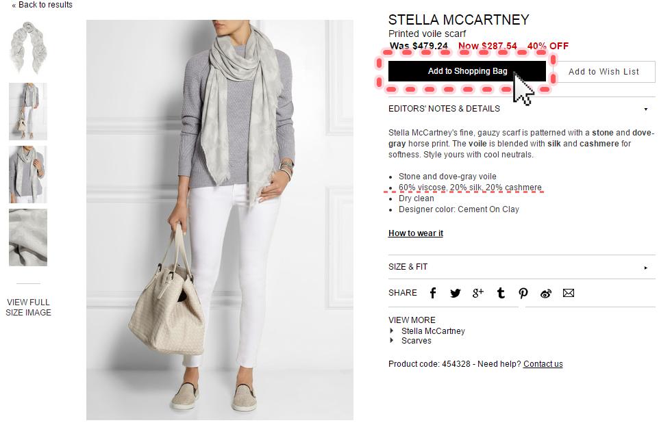 NET-A-PORTER購物教學--stella mccartney