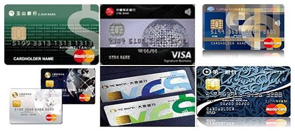 各家銀行雙幣信用卡