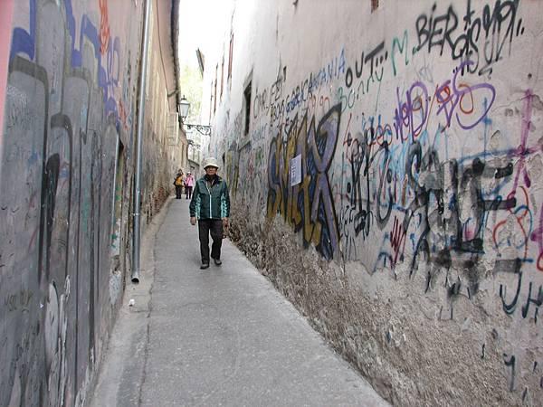 IMG_3243 Zagreb新城區街道塗鴉