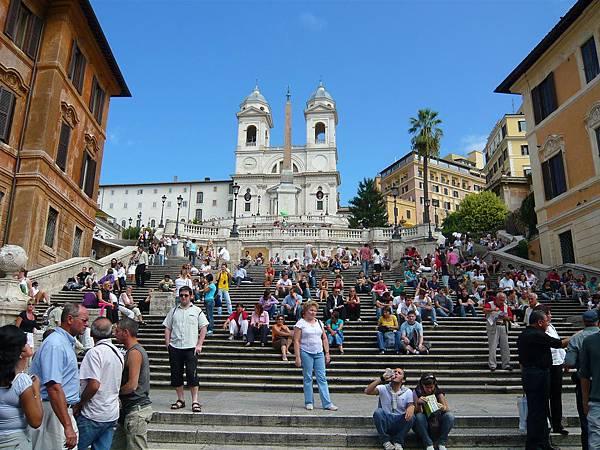 羅馬的西班牙廣場
