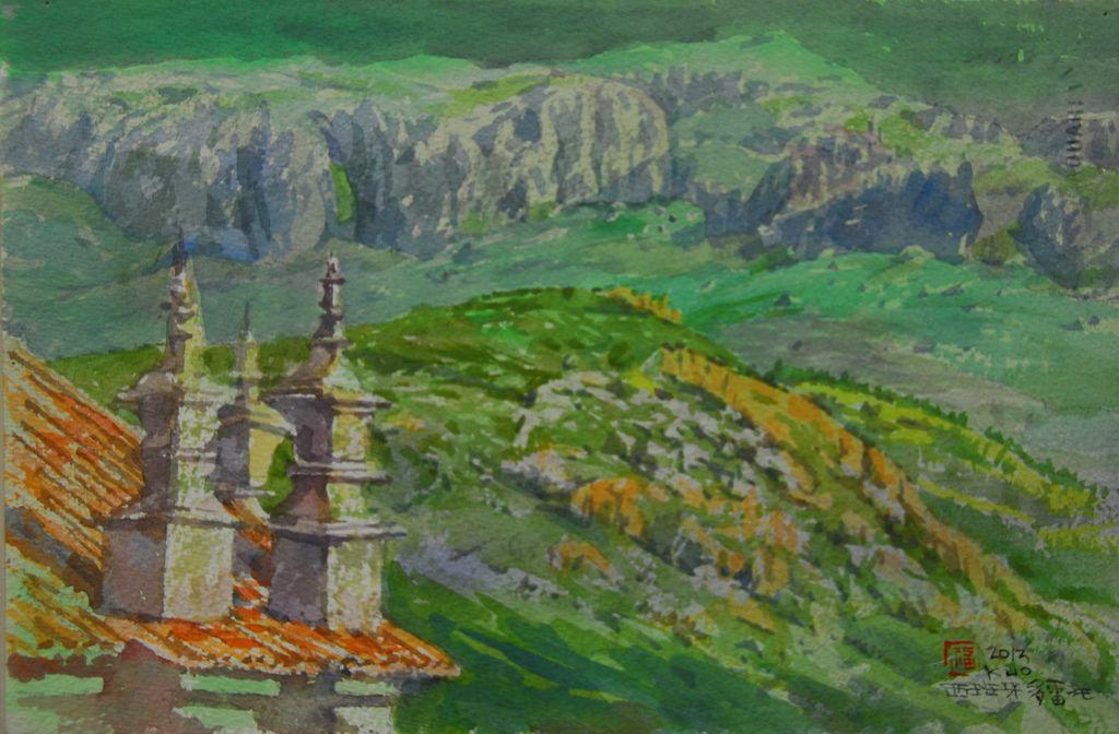 07DSC_8858-1托雷多古城眺望卡斯提爾拉曼查平原