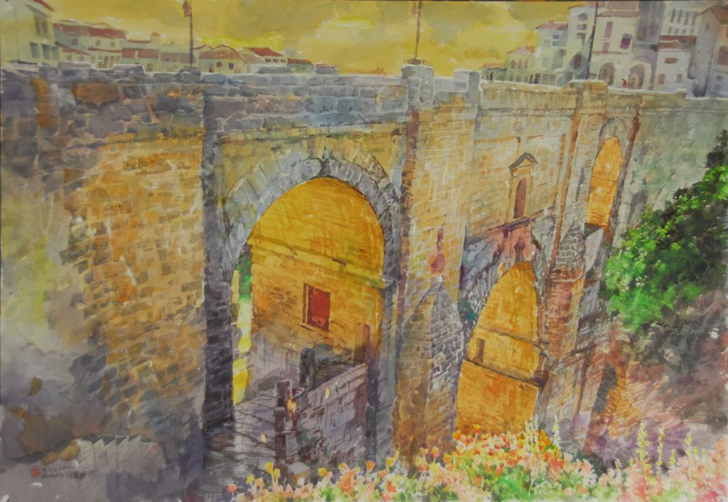 09DSC_8828-1托雷多古城的聖馬丁橋